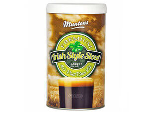 Muntons irish stout 1.5 кг